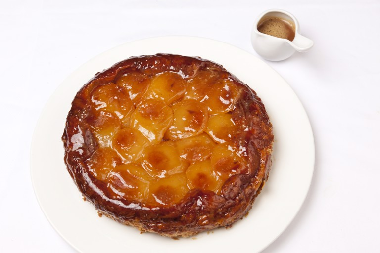 Classic apple tarte Tatin