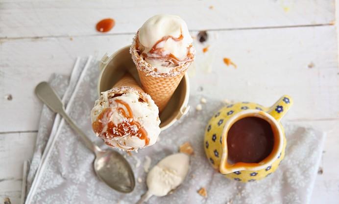 Thai coconut ice cream