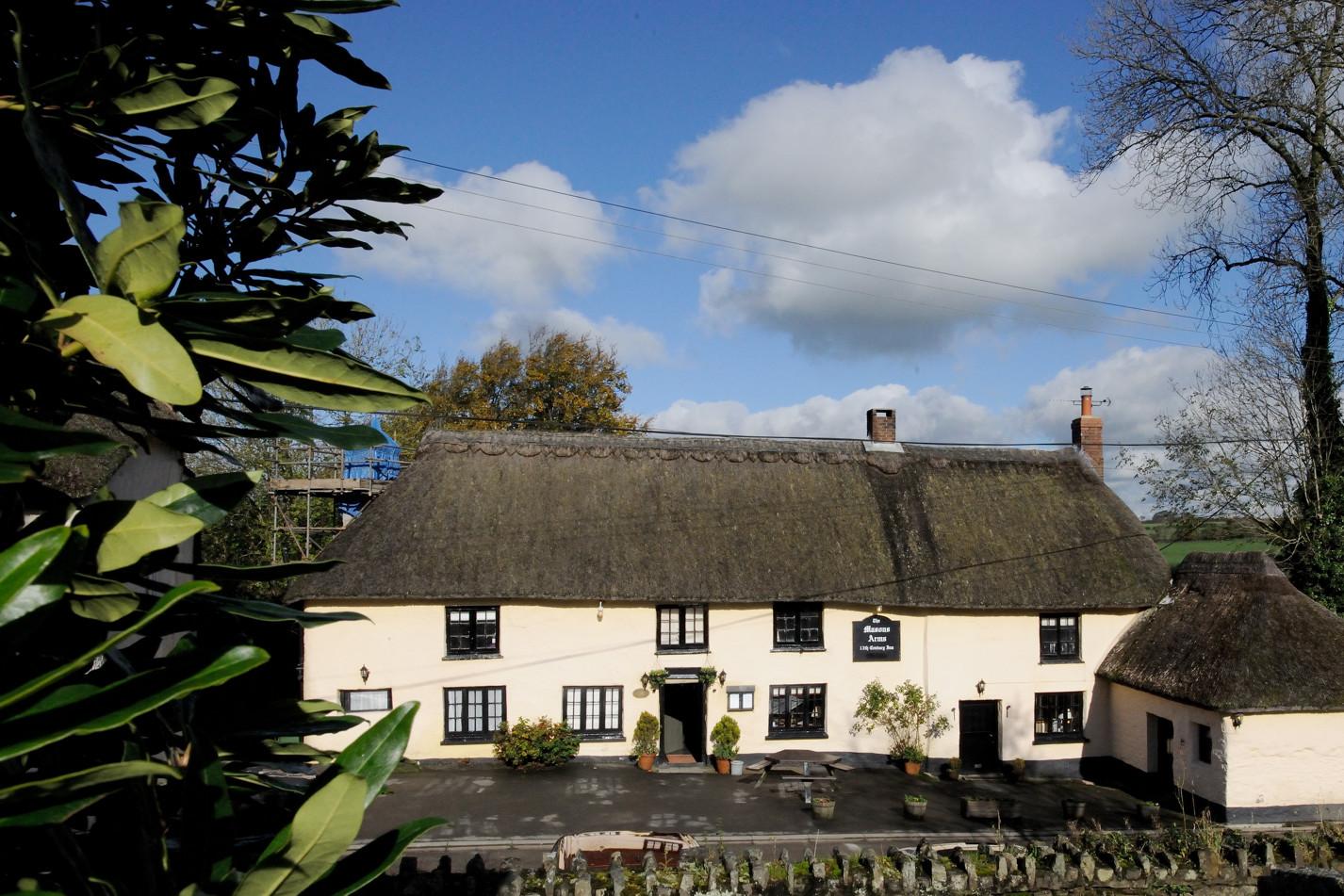 A former 13th-century inn