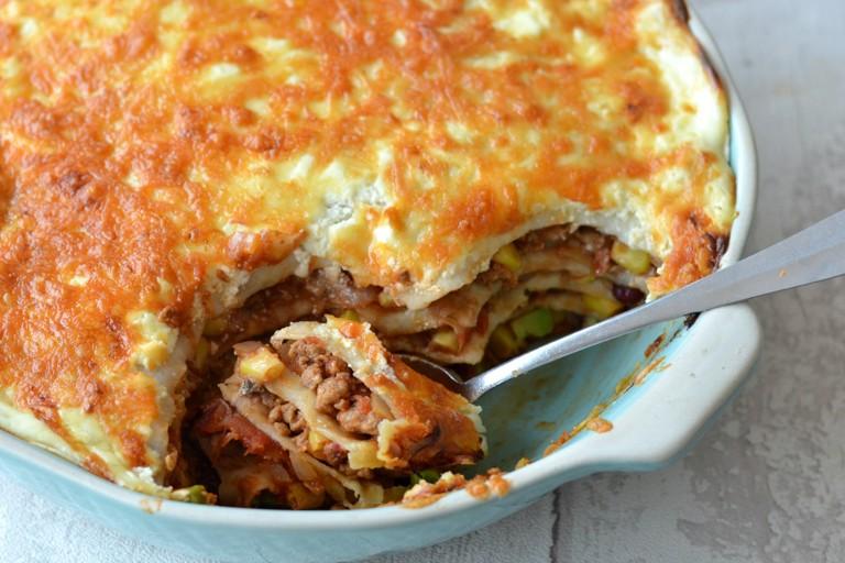 Quorn Mexican lasagne