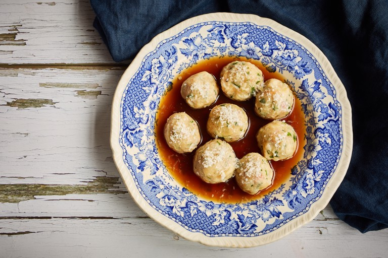 Canederli – Italian bread dumplings