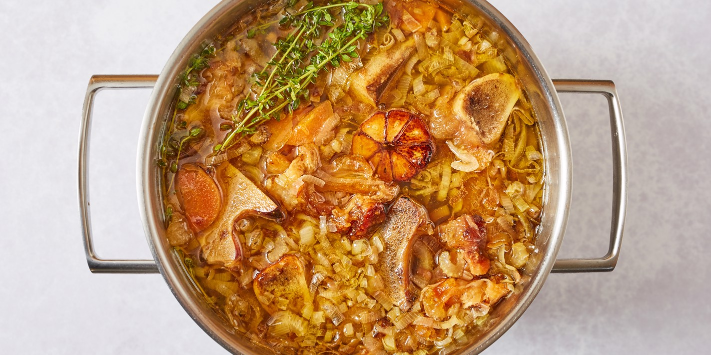 How to make brown veal stock