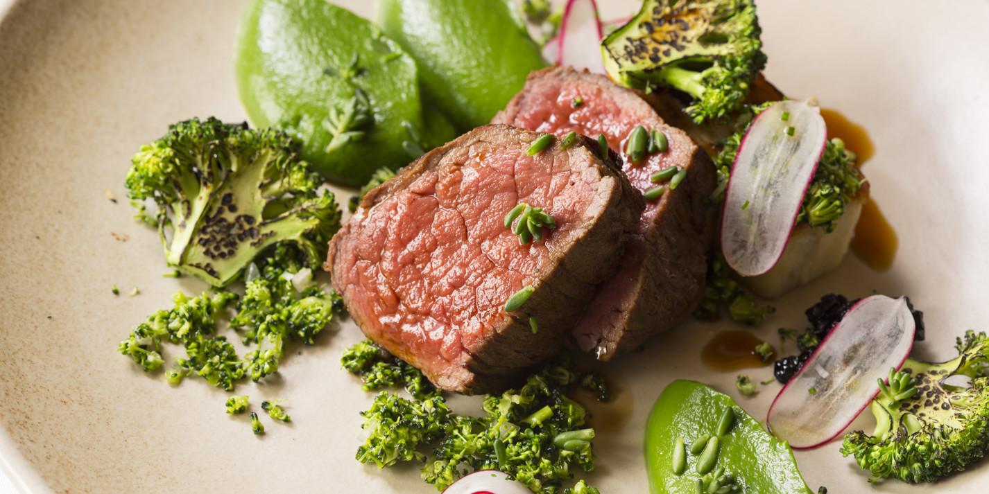 Sous vide beef
