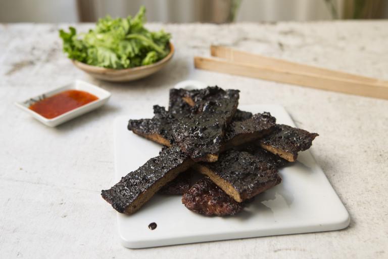 Bak Kwa - barbecue meat jerky