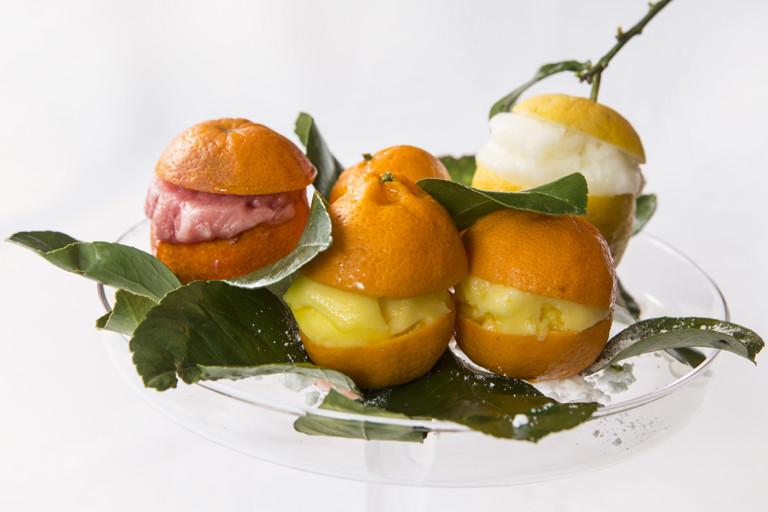 Citrus sorbets