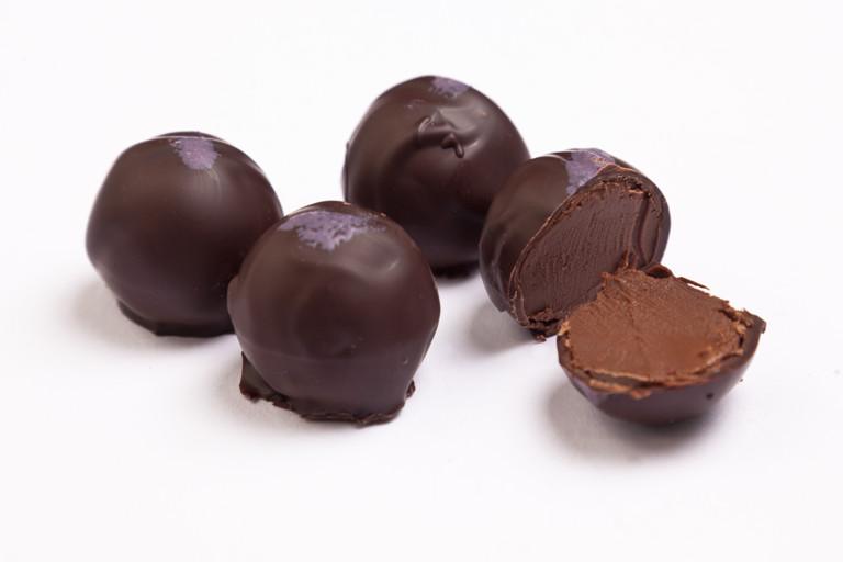 Port and Stilton truffles