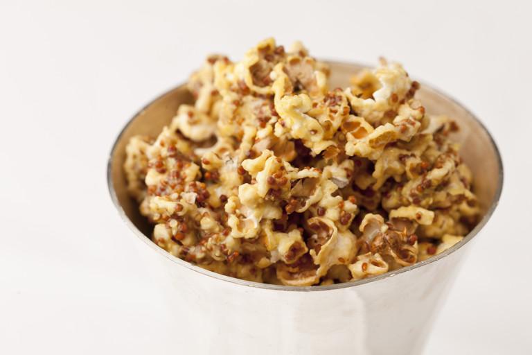 Honey mustard popcorn