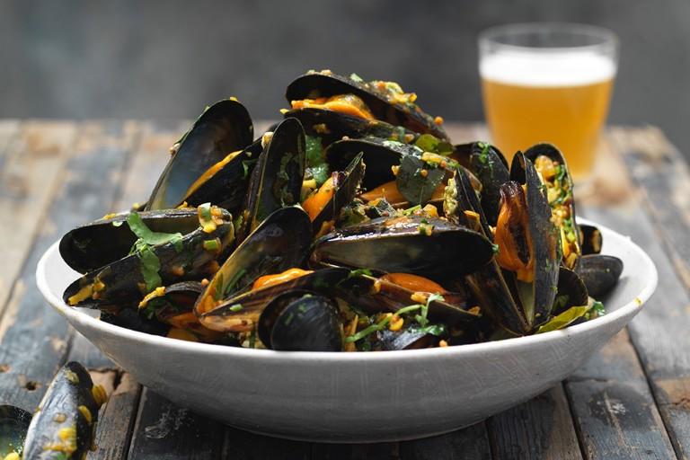 Karnatakan mussels