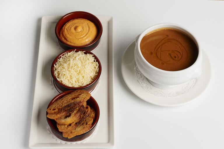 Soupe de poisson, rouille and Gruyère