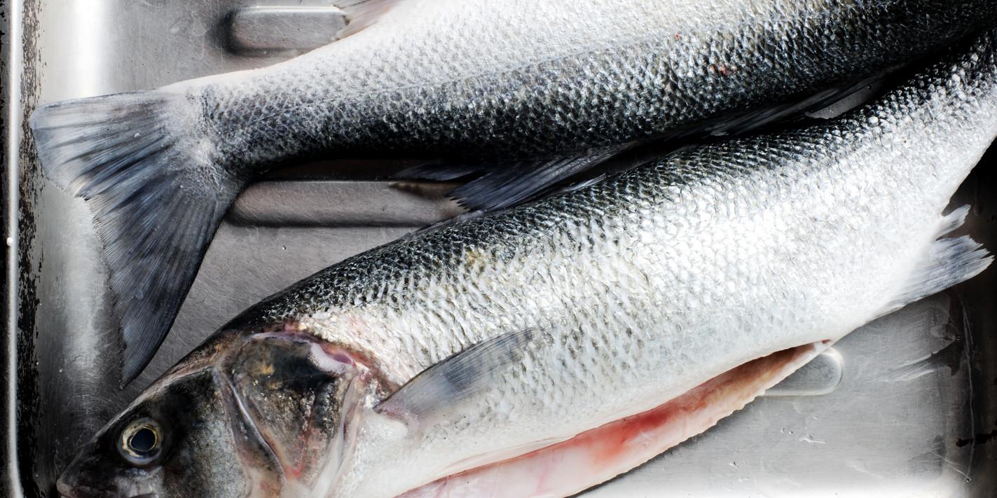 How to roast sea bass whole