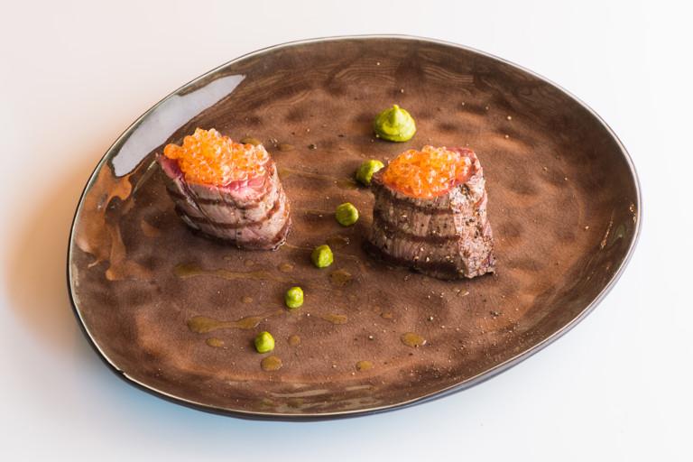 Grilled venison fillet recipe