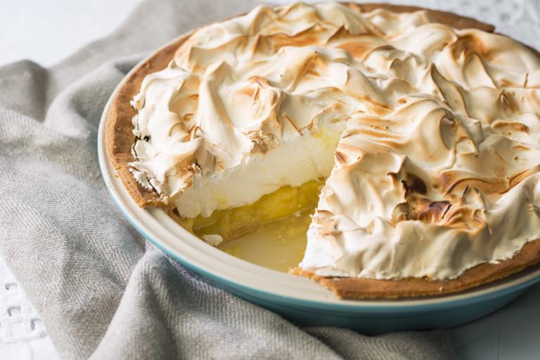 Ultimate lemon meringue pie recipe