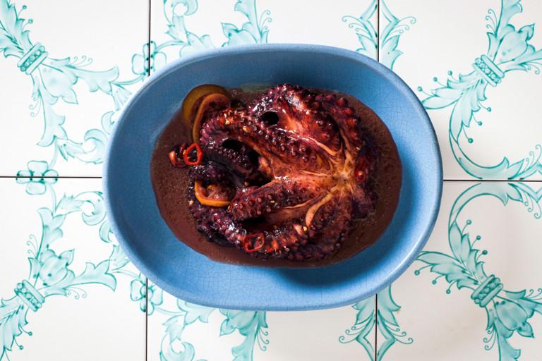 Luciana-style octopus - polpo alla Luciana