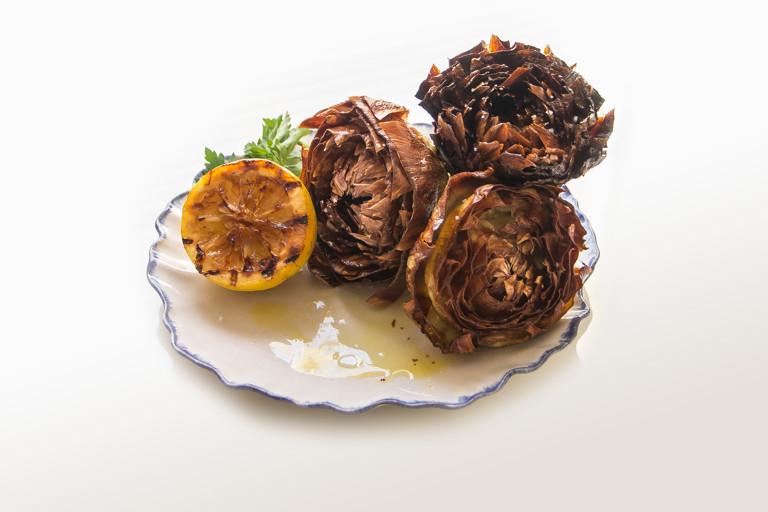 Carciofi alla Giudea – crispy fried artichokes
