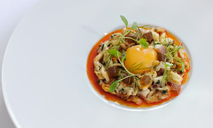 How to confit egg yolk