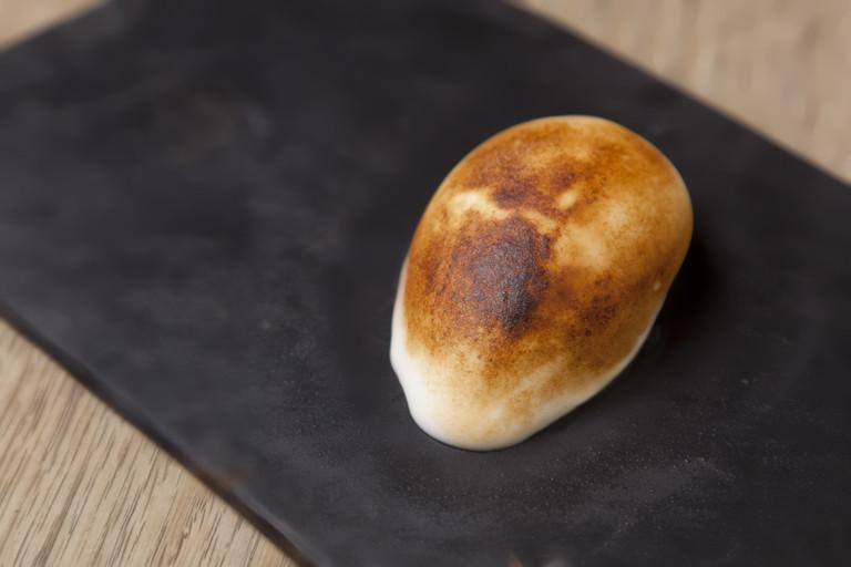 Lemon meringue sorbet