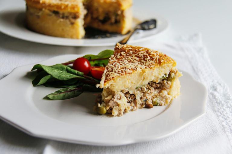 Minced turkey pie recipe