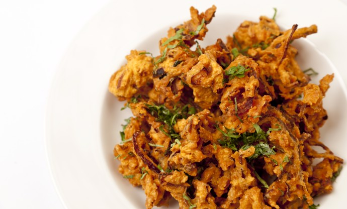 How to make an onion bhaji