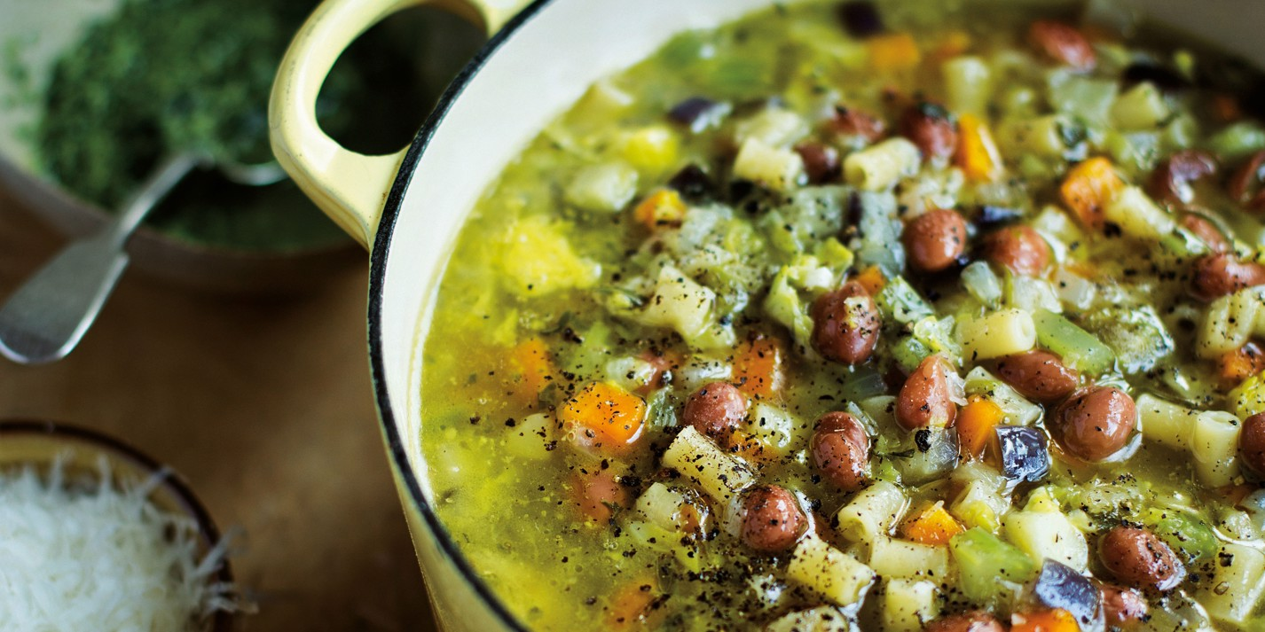 Minestrone di verdure recipe