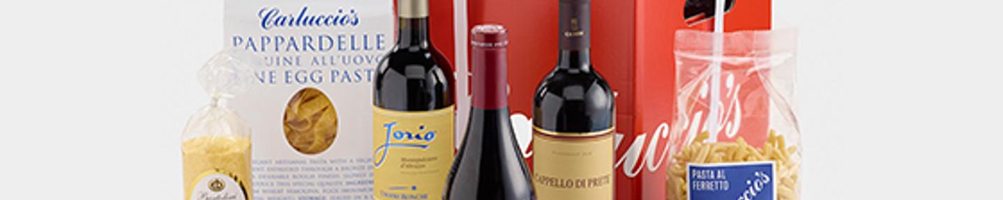Win a Carluccio's wine and pasta hamper worth £50