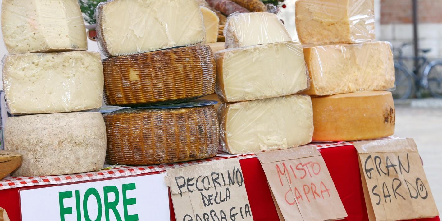 The cheeses of Sardinia