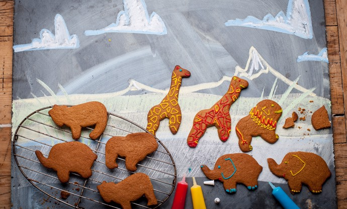 Gingerbread safari park