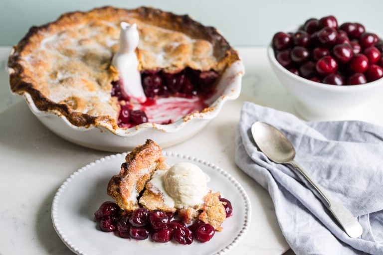 Picota cherry pie