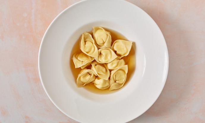 Cappalletti romagnoli di magro – three cheese cappalletti
