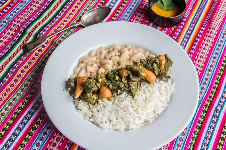 Seco de cordero - Peruvian lamb stew