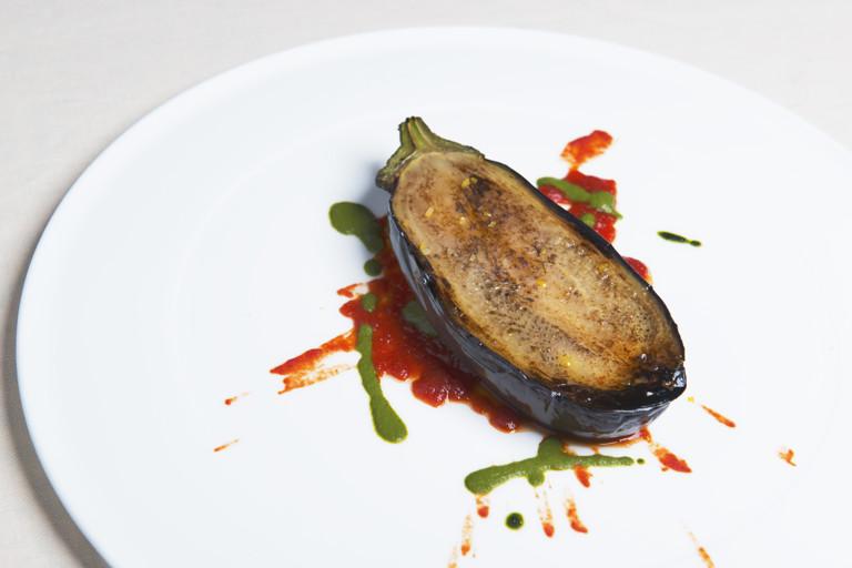 Essential aubergine