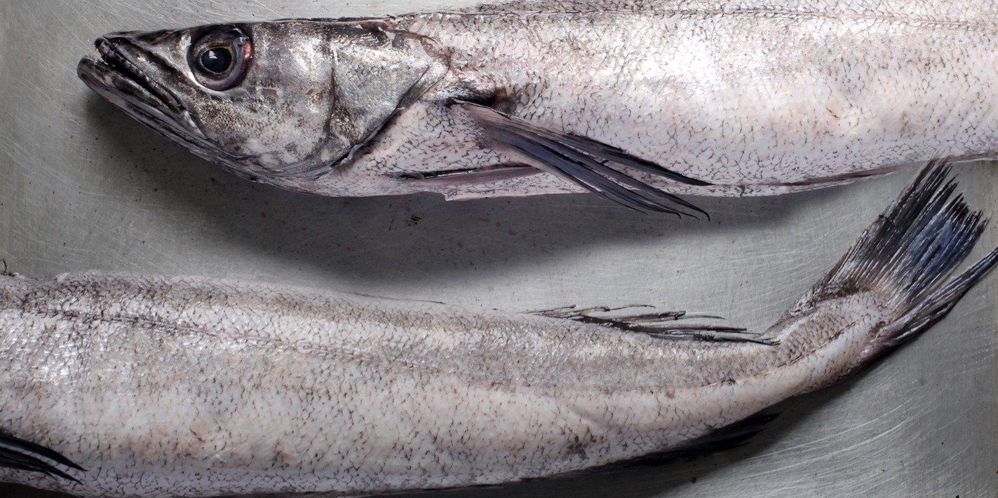 How to roast a whole hake