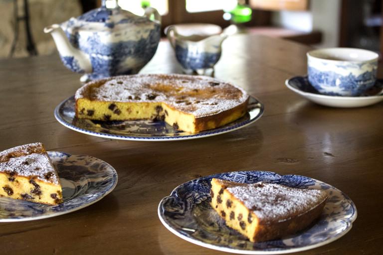 Torta di semolino – semolina cake