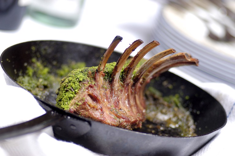 Best-end of lamb, 'Provençale herbs'