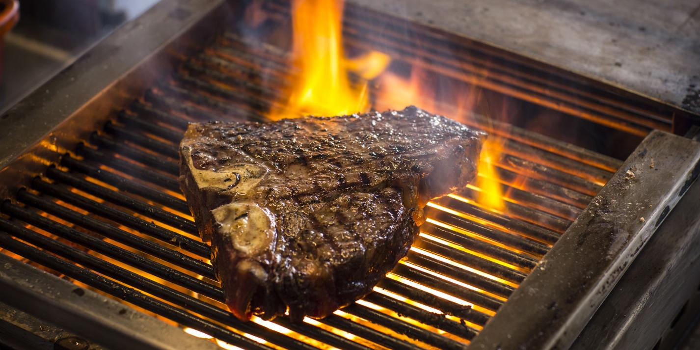 How to grill t-bone steak