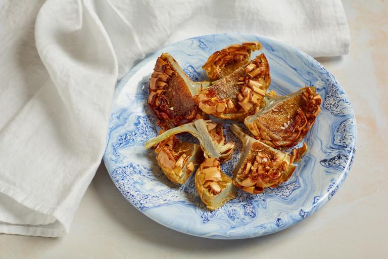 Carciofi alla giudia – Roman-Jewish fried artichokes