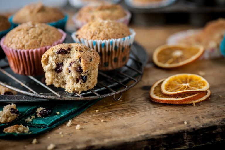 Mrs Byatt's Christmas day muffins