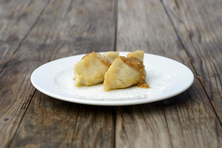 Kobarid dumplings (Slovenian walnut dumplings)