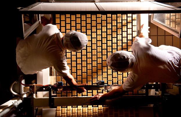Barilla pasta production