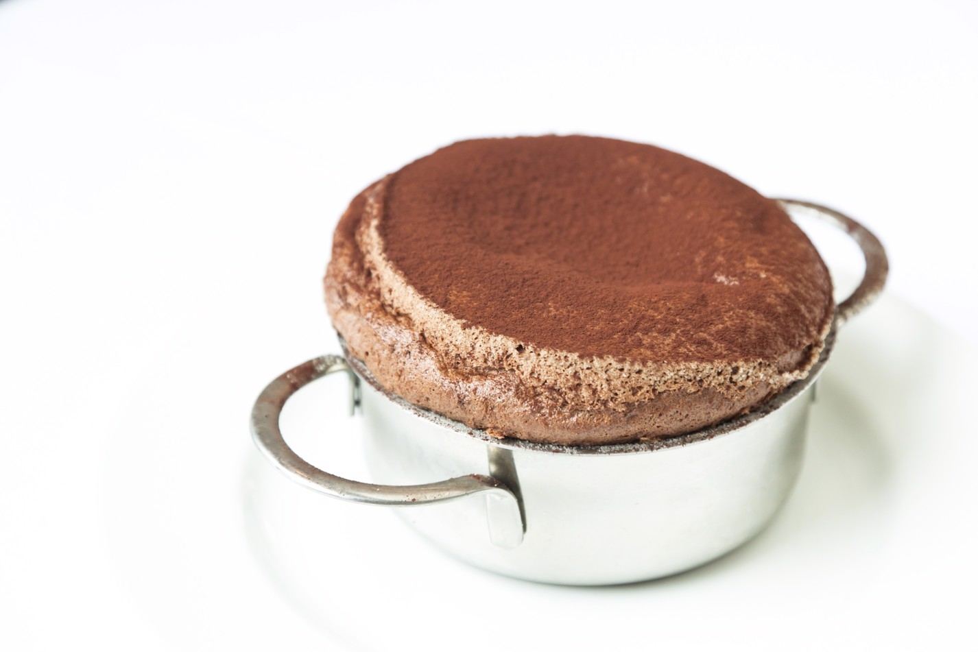 Hot chocolate soufflé
