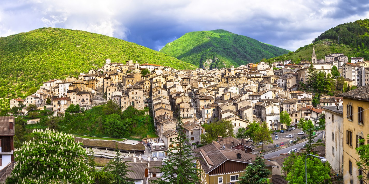 The most beautiful borghi of central Italy