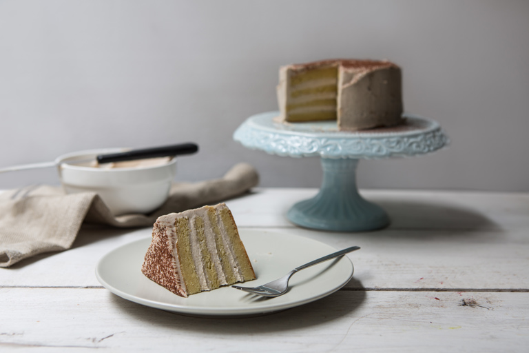 Gluten-free chestnut and vanilla cake recipe