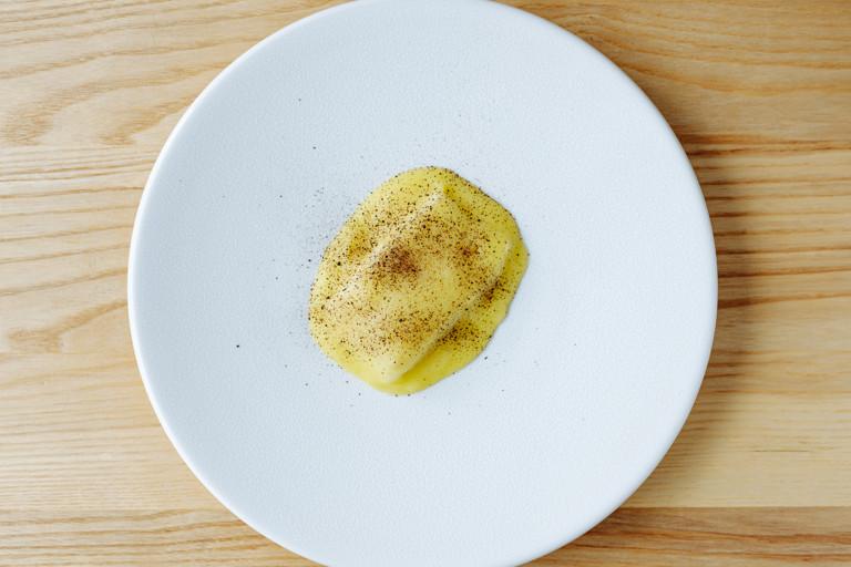 Halibut, potato, pepper dulse and fennel
