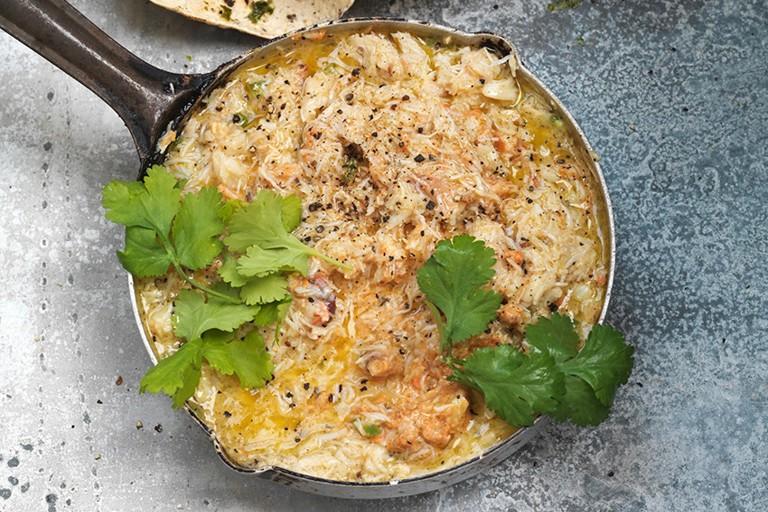 Butter garlic crab