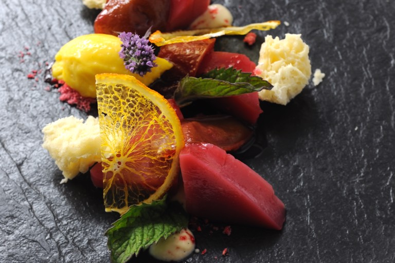 Spiced wild plum