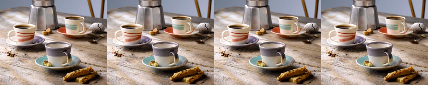 Win a set of six espresso cups and saucers