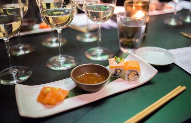 Sake and salmon
