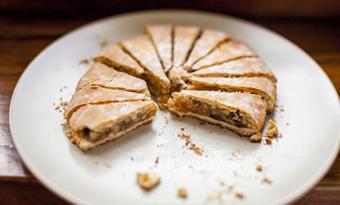 Spongata di Natale – Italian Christmas cake