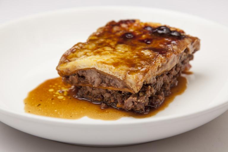 Gluten-free lean beef lasagne
