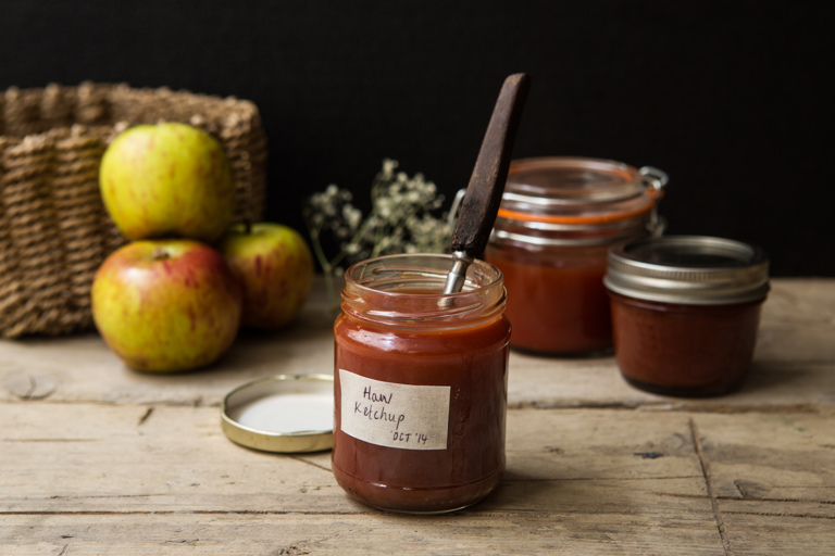 Hawthorn berry ketchup