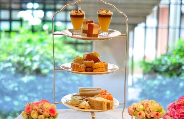 Basket of glorious, golden scones not pictured